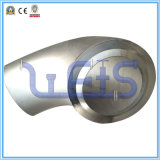 Instalación de tuberías de Asme B16.9 codo de 90 grados