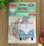 Ambientador de aire de papel de los accesorios del coche de la promoción