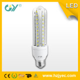 Bulbo de cristal caliente de las ventas 3u 9W 12W E27 3000k China LED