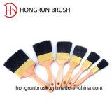 Escova de pintura de madeira do punho (HYW0332)