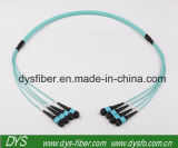 12 laço de retorno ótico Multi-Fiber high-density do núcleo Om3 MTP-MTP