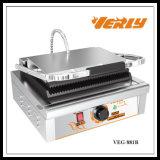 Fabricant de sandwich/gauffreuse électriques commerciaux de Panini de bonne qualité avec du CE approuvé (VEG-881B)