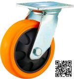 Hochleistungs-PU-Schwenker-Fußrolle