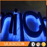 뒤 점화 3D를 가진 LED 좋은 품질 빛 편지는 로고를 방수 처리한다