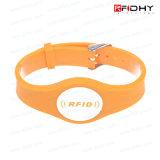 RFID Slicone Wristband per Identification con Ntag Chip