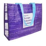 O presente não tecido reusável ensaca a compra (LJ-131)