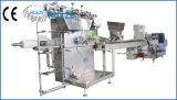 ぬれたティッシュ/ワイプの水平のパッキング機械