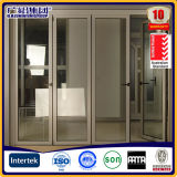 Vidrio de aluminio de la serie Z70 plegable Windows y puertas de China en Guangzhou