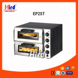Máquina eléctrica de la hornada del equipo del hotel del equipo de la cocina de la máquina del alimento del equipo del abastecimiento del Bbq del equipo de la panadería del Ce del horno de la pizza (EP-2ST)