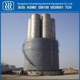 Tamaño grande de vacío del tanque de almacenamiento criogénico en polvo