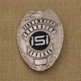 La polizia su ordinazione di Pin di Laple del metallo di Differents del rifornimento Badge