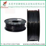 Zwarte Dia 1.75mm 3.0mm Grote Gloeidraad van de Printer van de Vezel van de Koolstof van de Intensiteit 3D