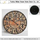 La casa di Customed del fornitore della Cina decora l'orologio di legno
