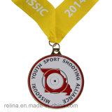Médaillon fait sur commande de module de finition de concurrence de passage de marathon avec la lanière