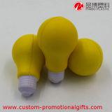 Glühlampe-Form-Gelb PU-Anti-Stress Schaum-Kugel
