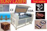 Máquina de costura do laser do acrílico de madeira para metalóides com Ce FDA