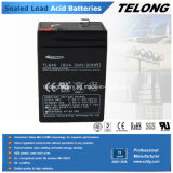 UPS를 위한 6V4ah Rechargeable Sealed Lead Acid Battery