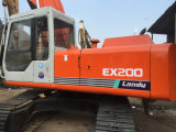Máquina escavadora de segunda mão de Hitachi Ex200-1 para a venda