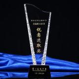 Neues Modell-Kristallpreis-Trophäe mit kundenspezifischem Firmenzeichen