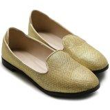 PU-bequeme Taillen-leere flache Frauen-Schuhe