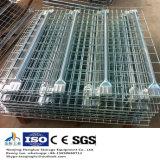 Decking do engranzamento de fio da cremalheira da pálete do uso do armazém/Shelving industriais engranzamento de fio