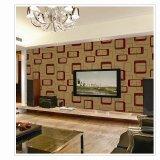 Papel pintado líquido de la decoración de la sala de estar del papel pintado del PVC