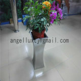 공장 Dorect 판매 실내 가구 스테인리스 꽃 화병 가는선 완료