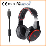 PC virtual Gaming Headset de 7.1 Sound para PS3, xBox 360 (RGM-903)