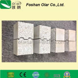 Placa de sanduíche de pouco peso do cimento do EPS para a parede interno/externo