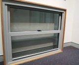 Finestra di scivolamento di alluminio Heat-Insulated di prezzi poco costosi con vetro colorato