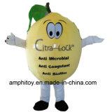 Traje personalizado da mascote da planta do limão