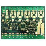 2L 1.0mm Tweezijdige PCB van het Gouden Plateren