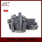 P226 Blackhawk 군 하락 다리 전자총 권총휴대 주머니 오른손 (긴 작풍)를 위한을%s 전술상 권총 권총휴대 주머니