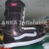 Reproduction personnalisée gonflable de Realiaty de chaussures pour la publicité