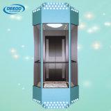Levage panoramique en verre guidé d'intérieur électrique
