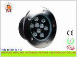 9W СИД Underwater Light Single Color