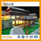 건축 모델 구성 모형 제작자 또는 전람 모형 또는 고대 아키텍쳐 모형 또는 홍콩 자키 클럽 클럽회관 모형