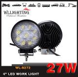 """guide optique 27W DEL de travail rond de véhicule de 4 """" pour Truck/SUV/ATV Wl-8272 (Aboutir-fonctionner la lumière)"""