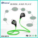 Cancelamento sem fio do ruído dos auriculares do fone de ouvido de Sweatproof Bluetooth do esporte estereofónico de 2016 formas para Smartphone