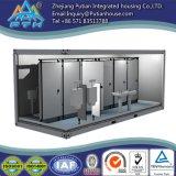 Récipient modulaire adapté aux besoins du client de toilette de Prefabricatd de norme de l'OIN