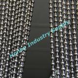catena d'argento della sfera dei ciechi di rullo dell'acciaio inossidabile di 4.5mm