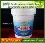 Capa resistente componente sin solvente de agua del poliuretano de la aplicación fría sola para la construcción
