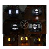 Faro di rettangolo LED per Vechiles fuori strada, per il Wrangler della jeep
