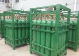 Cylindre de gaz d'acier sans couture de dioxyde de carbone d'argon de l'oxygène d'azote liquide de qualité