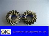 Engranaje cónico y piñones espirales