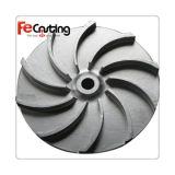 Утюг/алюминий/алюминий/латунная/стальная турбинка плавильни подвергать механической обработке CNC