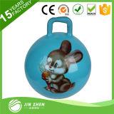 Bola de salto inflable del PVC de la alta calidad nueva y de moda con la maneta