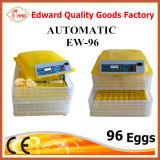 L'incubateur bon marché complètement automatique le plus neuf d'oeufs de marque de Hhd à vendre pour 96 oeufs