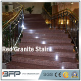 Scala rossa cinese/punto/impronte del granito per l'interiore