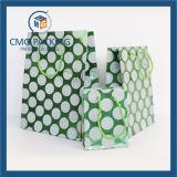 Saco de papel do chocolate azul da impressão (DM-GPBB-135)